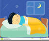 Free Clipart Going To Bed Image