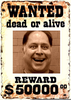 Wanted Poster In Clipart Image