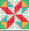Free Quilt Pattern Clipart Image