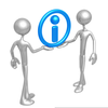 Data Sharing Clipart Image