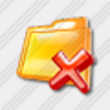 Icon Folder Remove 3 Image