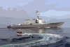Ddg 81 At Sea Clip Art