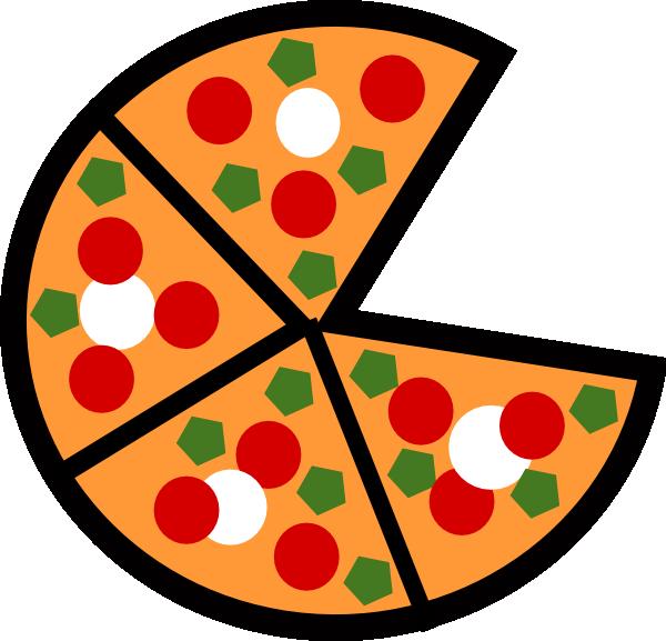Pizza Slices Clip Art at Clker.com - vector clip art ...