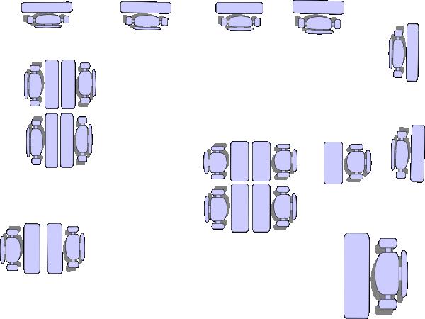 Z Arrangement Classroom Design Disadvantages ~ Classroom arrangement kdlp clip art at clker vector