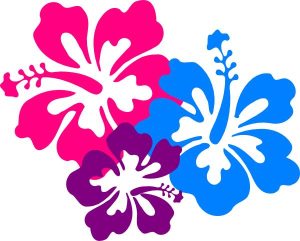 Hibiscus clip art at vector clip art online royalty free public domain - Hibiscus images download ...