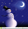 The Night Sky Clipart Image