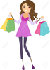 Animated Shopping Bags Clipart Image