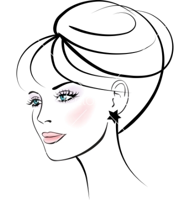 woman face | free images at clker - vector clip art online