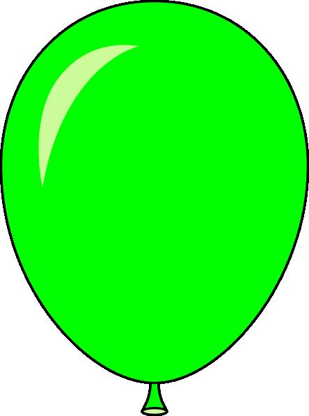 New Green Balloon - Light Lft Clip Art at Clker.com ...