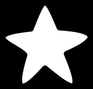 white star clip art at clker com vector clip art online royalty