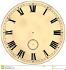 Clipart Of Clocks With Faces Image