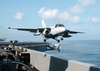 S-3b Viking Launches From Uss Lincoln Image