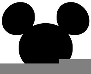 Classic Mickey Mouse Clipart Image