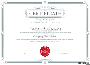 Certificate Clipart Frame Image