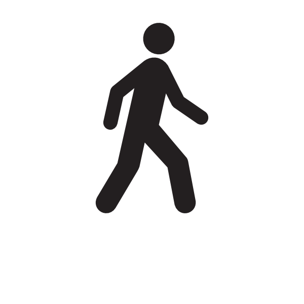 Walking People Logo Man Walking Moving Cli...