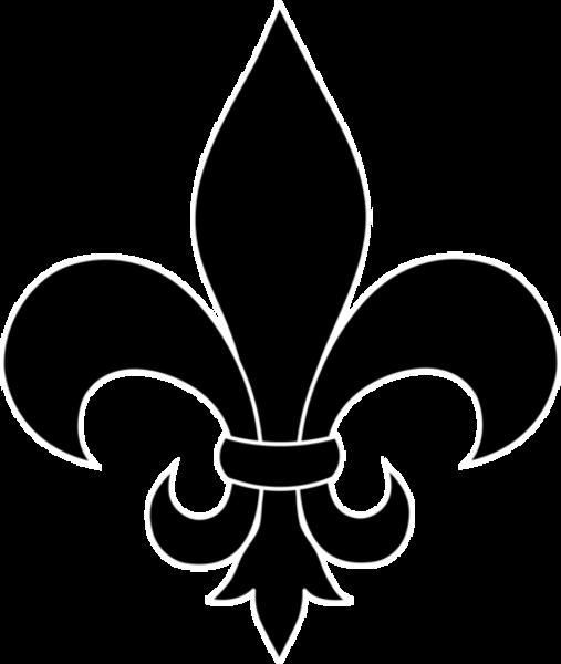 Fleur De Lis Black Silhouette | Free Images at Clker.com ...