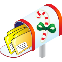 Christmas Mailbox | Free Images at Clker.com - vector clip ...