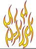 Free Flame Clipart Image