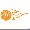 Clipart Basketball With Flames Microsoft Free Image