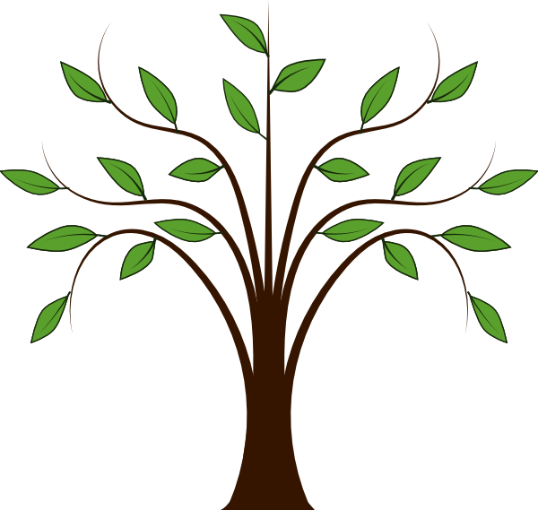 Whispy Tree Clip Art At Clker Com Vector Clip Art Online