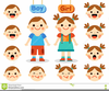 Clipart Faces Showing Emotions Image