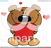 Valentine Bear Clipart Image