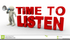Listen Clipart Free Image