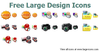 Free Large Design Icons Image