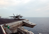 F/a-18 Launches From Uss John F. Kennedy Image