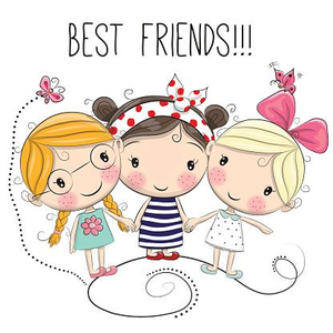 Friendship Charms Clipart Image