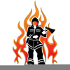 Clipart Fighting Fire Image