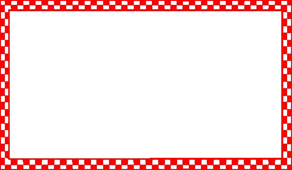 Red Checkered Border Clip Art At Clker Com Vector Clip