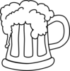 Beer Monochrome Clip Art