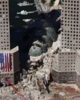 An Aerial View Shows Only A Small Portion Of The Crime Scene Where The World Trade Center Collapsed Following The Sept. 11 Terrorist Attack Clip Art