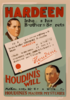 Hardeen Inherits His Brother S Secrets Houdini S Will Makes Possible The Continuance Of Houdini S Master Mysteries. Clip Art