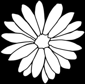 daisy clip art at clkercom vector clip art online