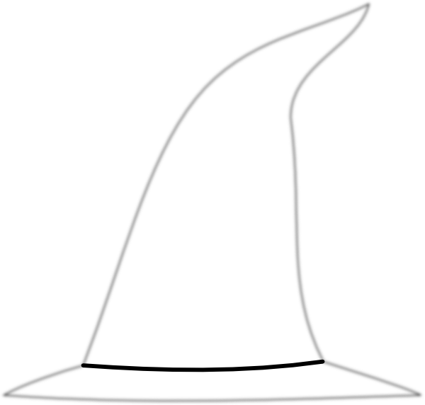Witch Hat Clip Art at Clker.com - vector clip art online ...