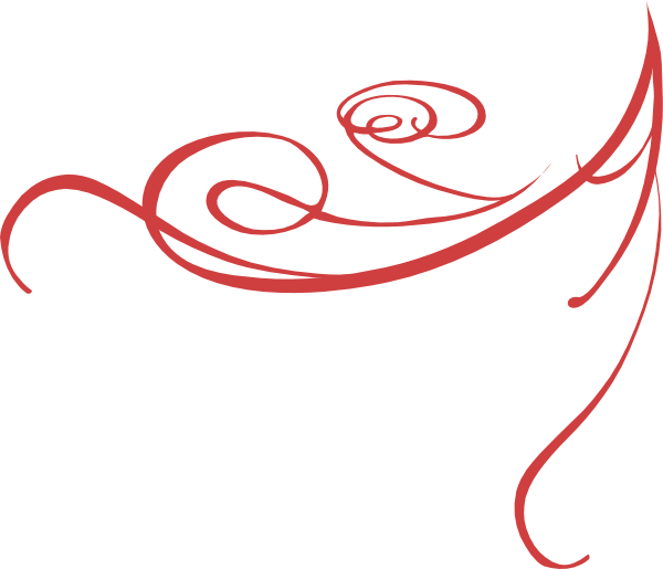 red decorative swirl clip art at clker com