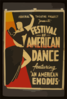 Federal Theatre Project Presents  Festival Of American Dance  Featuring  An American Exodus  Clip Art