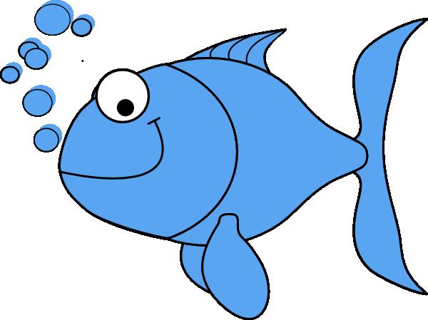 light blue fish clip art at clker com vector clip art online rh clker com fish clip art pictures fish clip art for kids