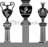 Free Greek Column Clipart Image
