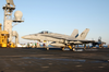 F/a-18 Hornet Makes Arrested Landing Aboard Uss Kitty Hawk Cv 63 Image