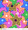 Star Pattern Clipart Image