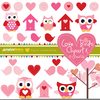 Love Birds Cliparts Image