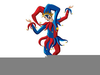 Free Court Jester Clipart Image