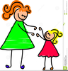 Loving Mother Clipart Image