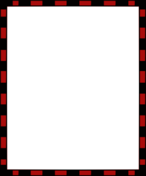 red black free border paper