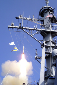 Standard Missile Launch From Ddg 56 Image