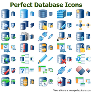 Perfect Database Icons | Free Images at Clker.com - vector ...