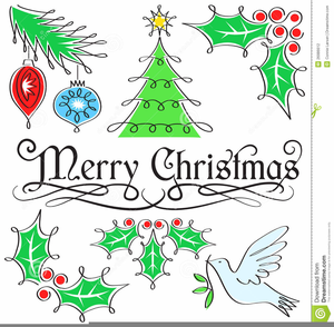Clipart Christmas Holiday Thank You